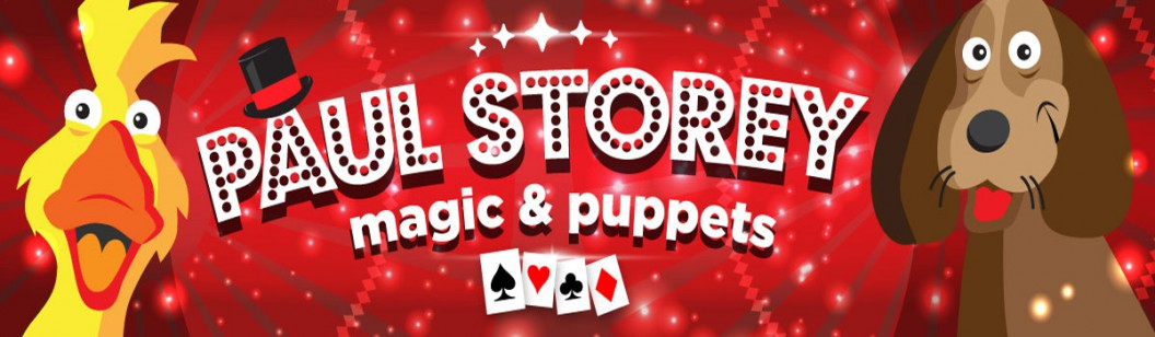 Magician for Schools, Kids Entertainer, Children's Entertainer Paul Storey, Magic Shows for Kids, Puppet Shows for Kids